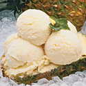 Pineapple-Orange Frozen Custard Ice Cream